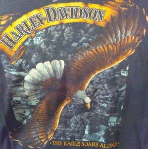 Harley Davidson Rare 1989 T Shirt by 3D Emblem 2X